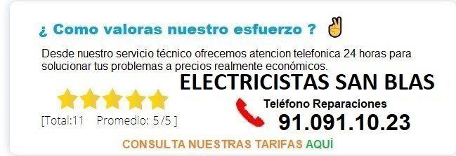 electricistas an blas precios