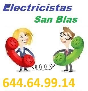 Electricistas Canillejas Calle de Nicolasa Gomez Madrid